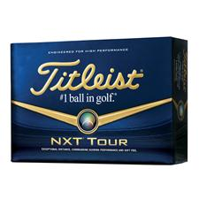 Titleist NXT Tour Logo Golf Balls