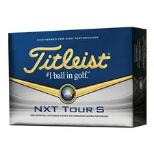 Titleist NXT Tour S Logo Golf Balls