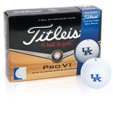 Titleist Kentucky Wildcats Prior Generation Pro V1 Collegiate Golf Balls