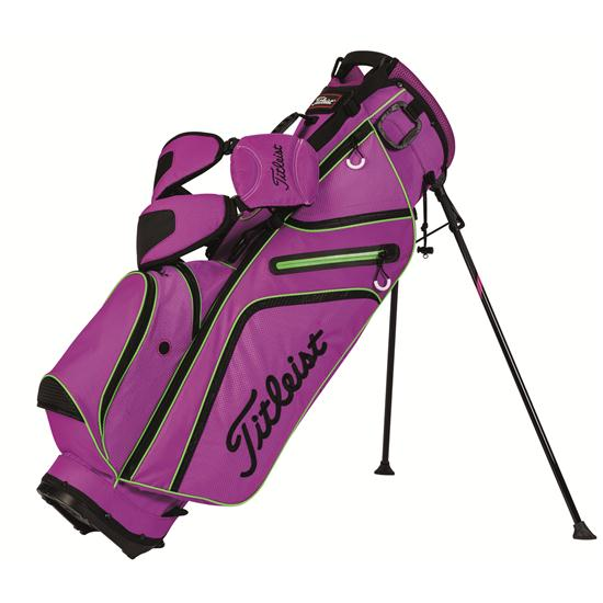 Home Home Titleist Ultra Lightweight Stand Bag - Purple-Black-Lime