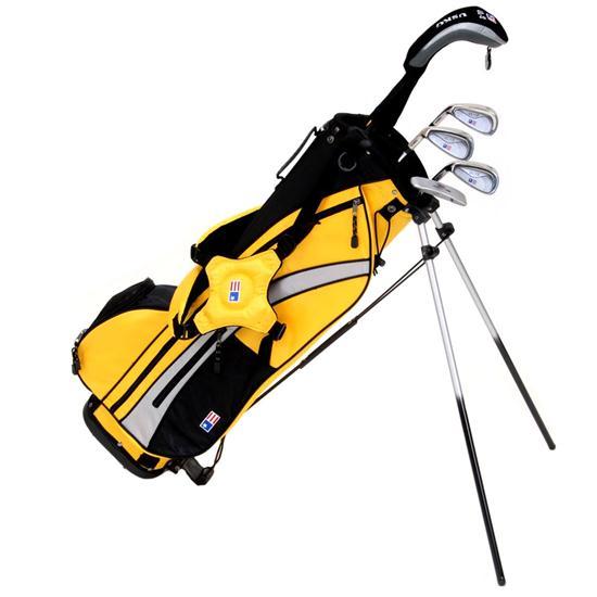 u s kids ultralight series golf 5 club stand bag set. Black Bedroom Furniture Sets. Home Design Ideas