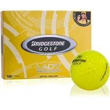 Bridgestone Custom Logo Prior Generation Lady Precept Yellow Golf Balls