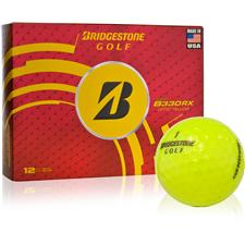 Bridgestone Custom Logo Tour B330-RX Yellow Golf Balls