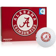 Bridgestone Alabama Crimson Tide e6 Collegiate Golf Balls