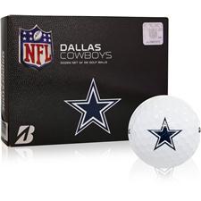 Bridgestone Dallas Cowboys e6 NFL Golf Balls