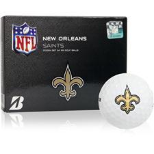 Bridgestone New Orleans Saints e6 NFL Golf Balls