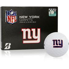 Bridgestone New York Giants Prior Generation e6 NFL Golf Balls