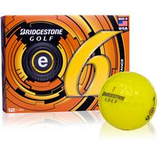 Bridgestone Prior Generation e6 Yellow Personalized Golf Balls
