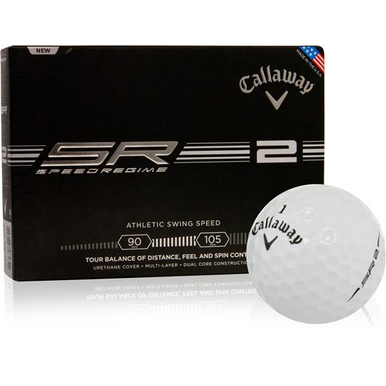 Callaway Golf Speed Regime 2 Golf Balls