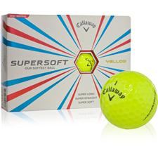 Callaway Golf Supersoft Yellow Golf Ball