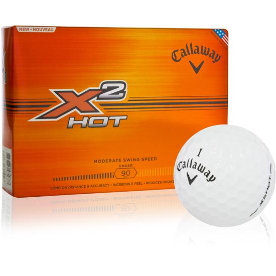 Callaway Golf X2 Hot Golf Balls