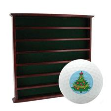 Golf Gifts & Gallery 49 Ball Display Cabinet