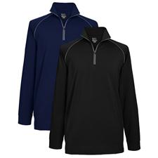 Greg Norman Men's 1/4-Zip Performance Mock
