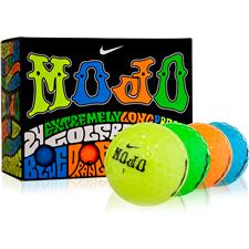 Nike Mojo Lucky #7 Multi-Color Double Dozen Golf Balls
