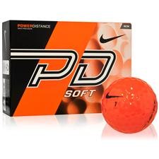 Nike Power Distance Soft Orange Golf Balls - 2015 Model