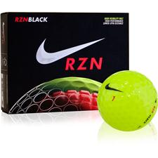 Nike RZN Black Volt Golf Balls