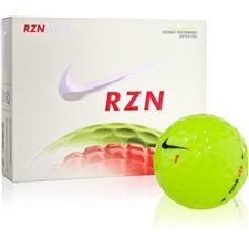 Nike RZN White Volt Golf Balls