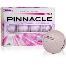 Pinnacle Custom Logo Bling Pink Golf Balls