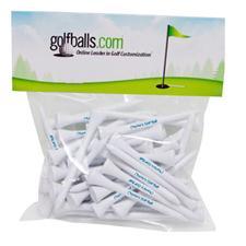Premium 2 3/4 Inch Overrun Golf Tees - 50 Pack