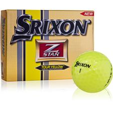 Srixon Prior Generation Z Star 3 Tour Yellow Golf Balls
