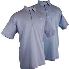 TABASCO Brand Men's Jacquard Birdseye Polo