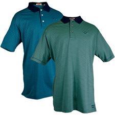 TABASCO Brand Men's Luxe Jersey Stripe Polo