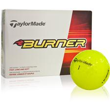 Taylor Made Burner Yellow Golf Balls