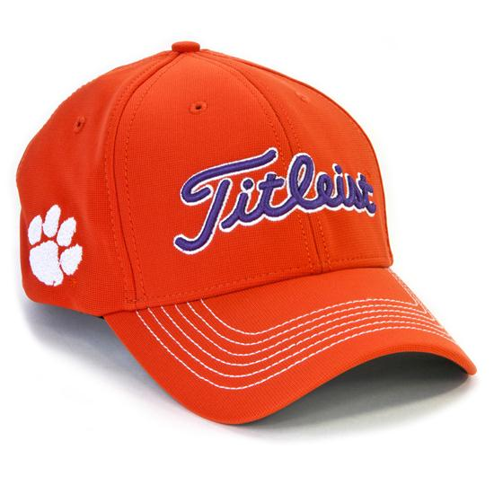 Clemson Fitted Hat: Titleist Men's Collegiate Fitted Hat
