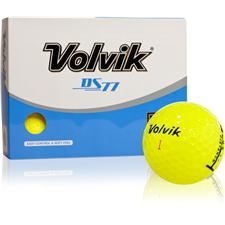 Volvik DS77 Yellow Golf Balls