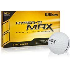 Wilson Hyper Ti Max Golf Balls - 15 Pack