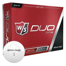 Wilson Staff Duo Spin Golf Balls - 2015 Model
