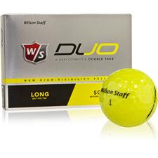 Wilson Staff Prior Model Duo Yellow Golf Ball