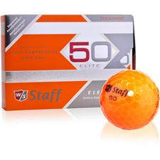 Wilson Staff Prior Model Fifty Elite Orange Golf Balls