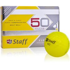 Wilson Staff Prior Model Fifty Elite Yellow Golf Balls