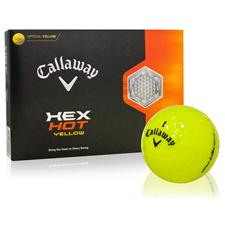 Callaway Golf HEX Hot Yellow Golf Balls