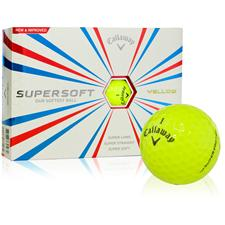 Callaway Golf Supersoft Yellow Golf Balls - 2015 Model
