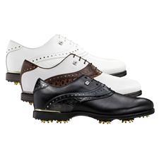 FootJoy Men's Icon Black Croc Golf Shoes