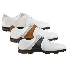 FootJoy Extra Wide Icon Black Saddle Golf Shoes