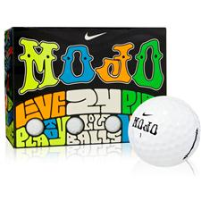Nike Mojo Lucky #7 White Double Dozen Golf Balls