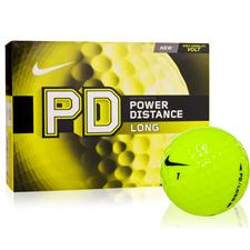 Nike Power Distance Long Volt Yellow Golf Balls