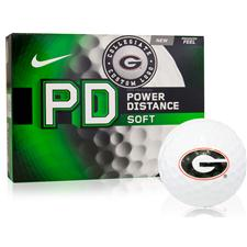 Nike Georgia Bulldogs Power Distance Soft Collegiate Golf Balls