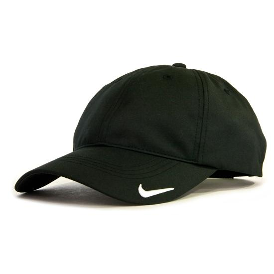 nike tech custom logo hat for black golfballs