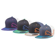 Puma Men's Monoline 3-Color 110 Snapback Hat - 2015 Model
