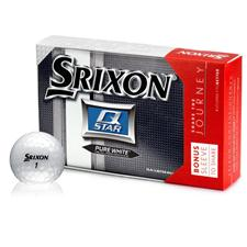Srixon Q Star Golf Balls with Bonus Sleeve