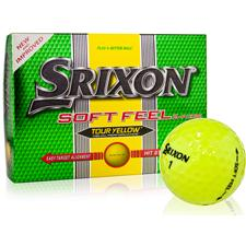 Srixon Soft Feel Tour Yellow Personalized Prior Generation Golf Balls