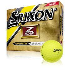 Srixon Z Star 4 Tour Yellow Golf Balls - 2015 Model