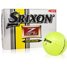 Srixon Z Star XV 3 Tour Yellow Golf Balls