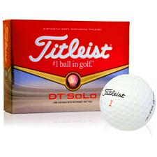 Titleist Custom Logo DT SoLo Golf Balls