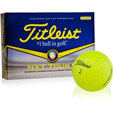 Titleist Custom Logo NXT Tour S Yellow Golf Balls