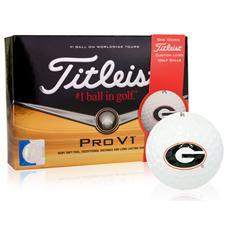 Titleist Georgia Bulldogs Prior Generation Pro V1 Collegiate Golf Balls